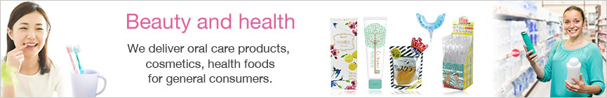 Beauty and health. consumer products
