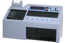硬貨選別計数機  DCV-10(プリンター付き)
